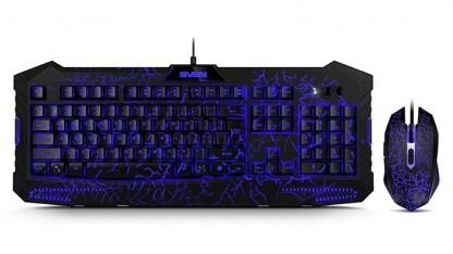 Тест набора клавиатура+мышь SVEN GS-9400. Дешево равным образом удобопонятно