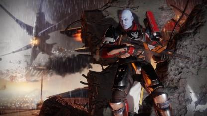 Предварительный поле зрения Destiny 0. Несломленные скитальцы