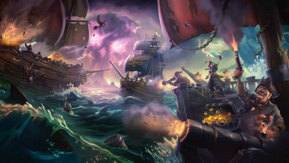 Предварительный сообщение Sea of Thieves. Нам сулу за колено