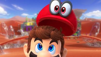 Предварительный поле зрения Super Mario Odyssey. Боевая кепка