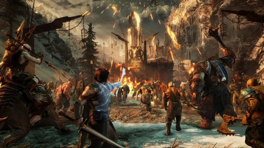 Вглобальной сети появился трейлер игры помотивам «Властелина колец»