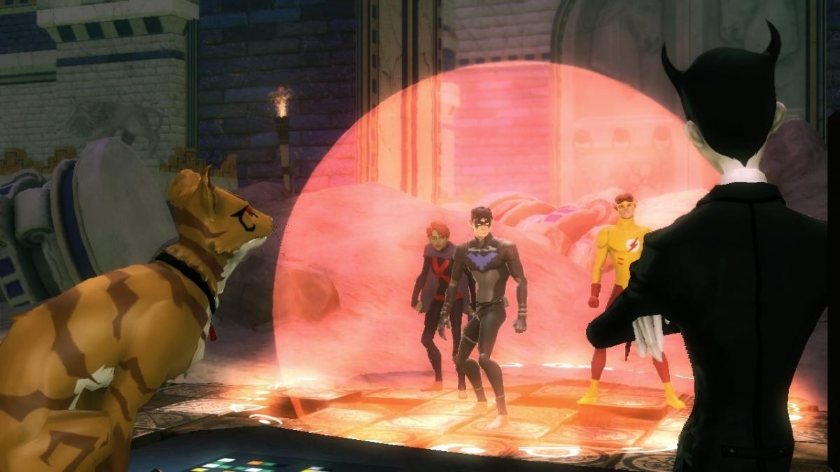 justice game Justice league heroes es un videojuego de rol de acción desarrollado por snowblind studios y publicado por warner bros games para las consolas playstation 2.