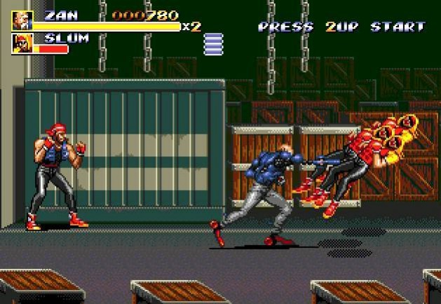 Streets of rage remake / bare knuckle (2011)