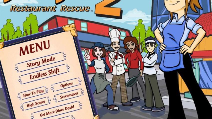 Diner Dash 2 Restaurant Rescue Скачать Бесплатно