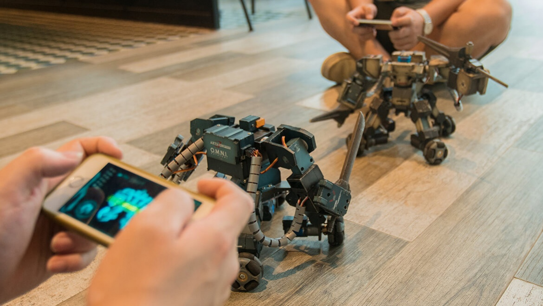 Робот ганкер своими руками 68