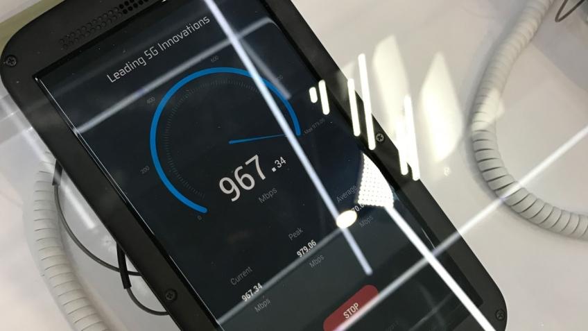 MWC 2017: ZTE представила прототип Gigabit Phone