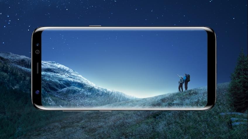 Самсунг представила смартфон Galaxy S8