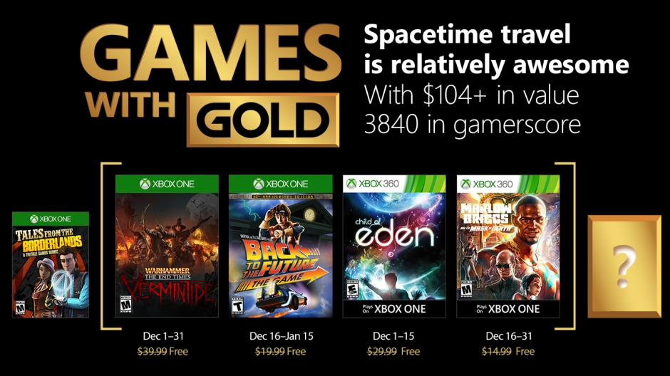 Декабрь с Xbox Live Gold: Warhammer: End Times — Vermintide и Back to the Future