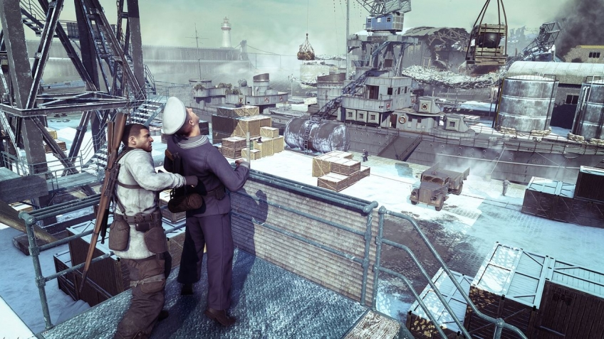 Новое DLC для Sniper Elite 4 появятся уже недавно