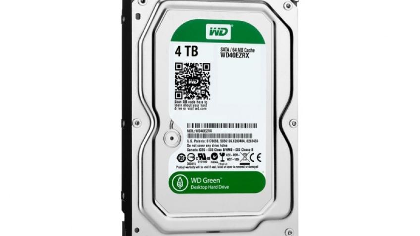 Жесткий диск объемом в 2 терабайта от компании western digital wd20ezrx, размером в 35 , относится к зеленой