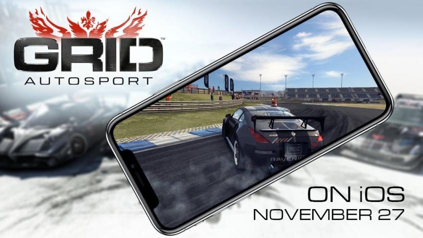 GRID Autosport выйдет на мобильных устройствах