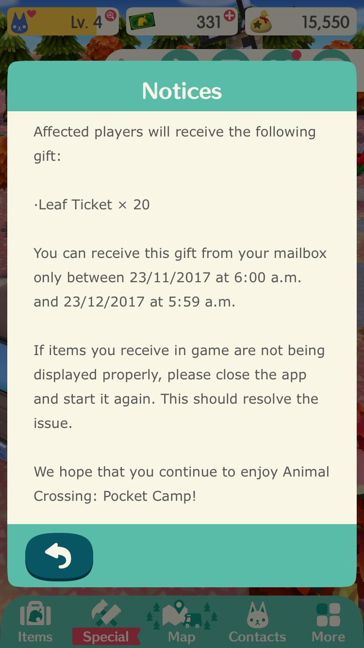 Nintendo извиняется за проблемы с Animal Crossing: Pocket Camp