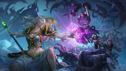 Король-лич посетил контора Blizzard накануне релизом нового DLC интересах Hearthstone