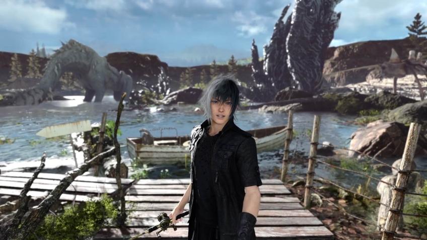 Диалоги о рыбалке: вышла Monster of the Deep: Final Fantasy 15