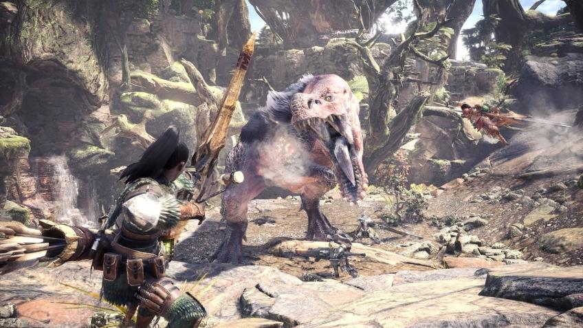 Capcom поделилась новым трейлером Monster Hunter World