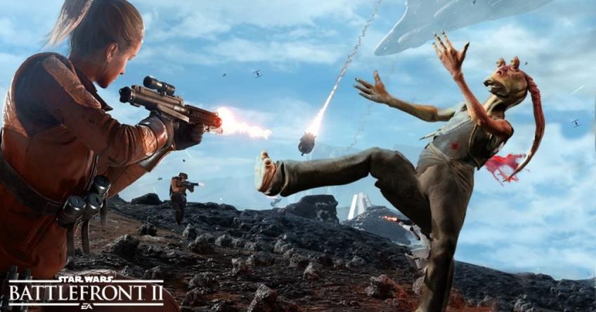 Премьера Star Wars Battlefront 2 не потрясла чарты