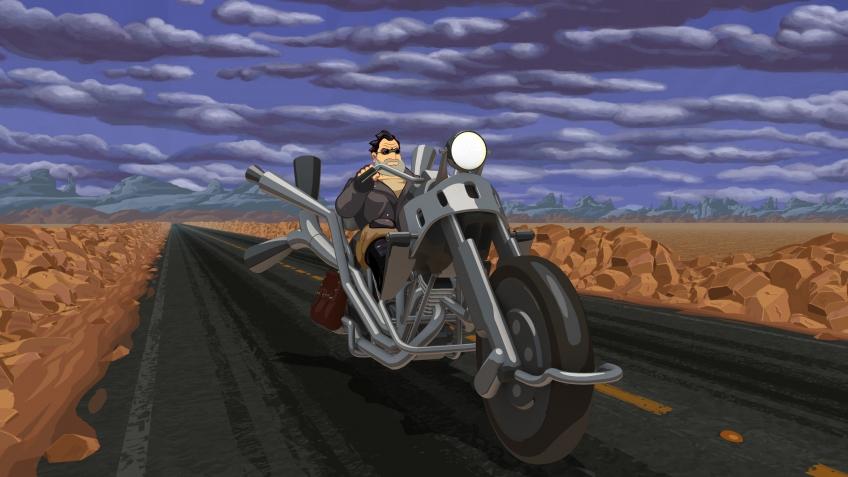 Full Throttle Remastered выйдет наPS4, PSVita иPC ксередине весны