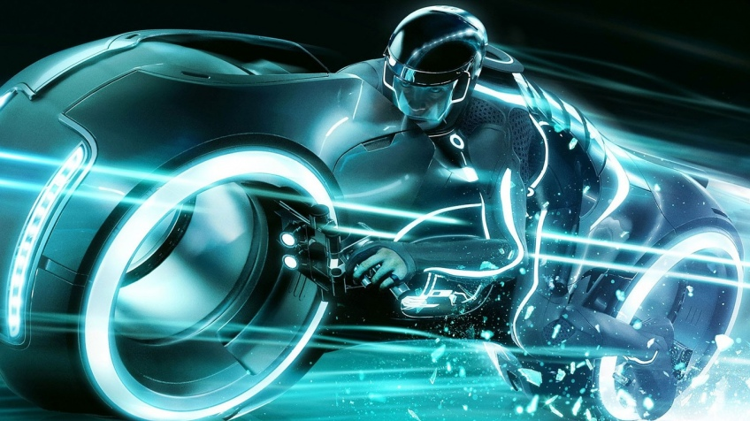 Tron неон мотоциклы  № 3312099 без смс