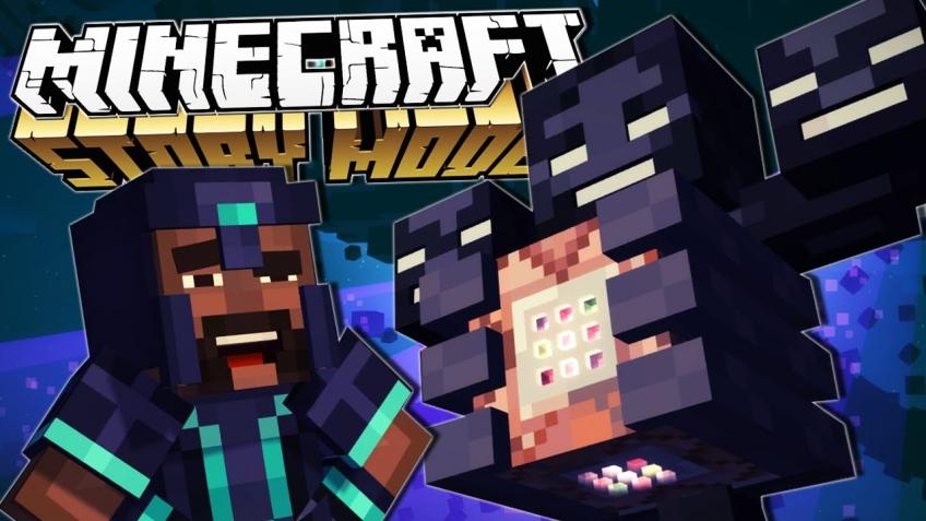 Microsoft отдаёт бесплатно Minecraft: Story Mode