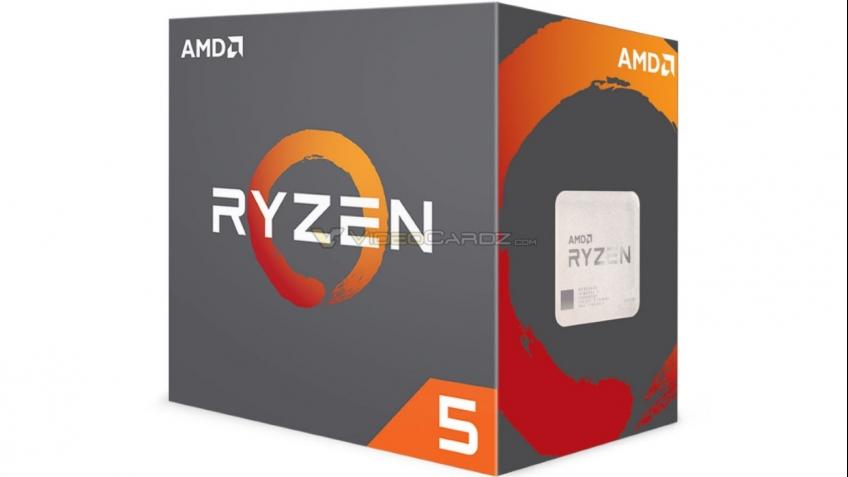 AMD выпустит процессоры Ryzen 5 в апреле