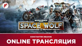 Warhammer 40,000: Space Wolf, Hollow Knight и Horizon Zero Dawn в прямом эфире «Игромании»