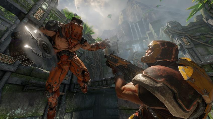 Quake Champions предложили игрокам записаться на ЗБТ