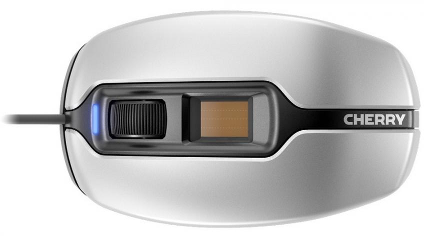 Мышь Cherry MC 4900 получила сканер отпечатков пальцев
