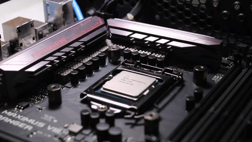 Процессор Core i3-8350K заставили работать на старой системной плате