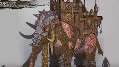 Total War: Warhammer. Трейлер ради монстров изо Norsca