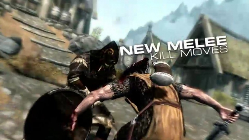 The Elder Scrolls 5: Skyrim - Update New Kill Cameras Trailer