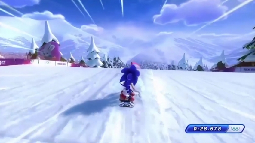 Mario & Sonic at the Sochi 2014 Olympic Winter Games - Presentation Video