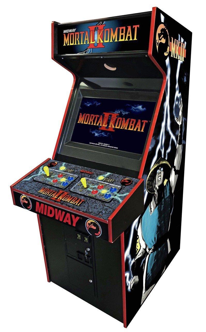 как сделать игровой автомат мортал комбат