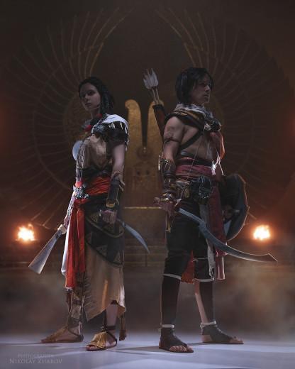 Косплей недели: Persona 5, «Метро 2033», Dead by Daylight, Genshin Impact, Assassin's Creed Origins