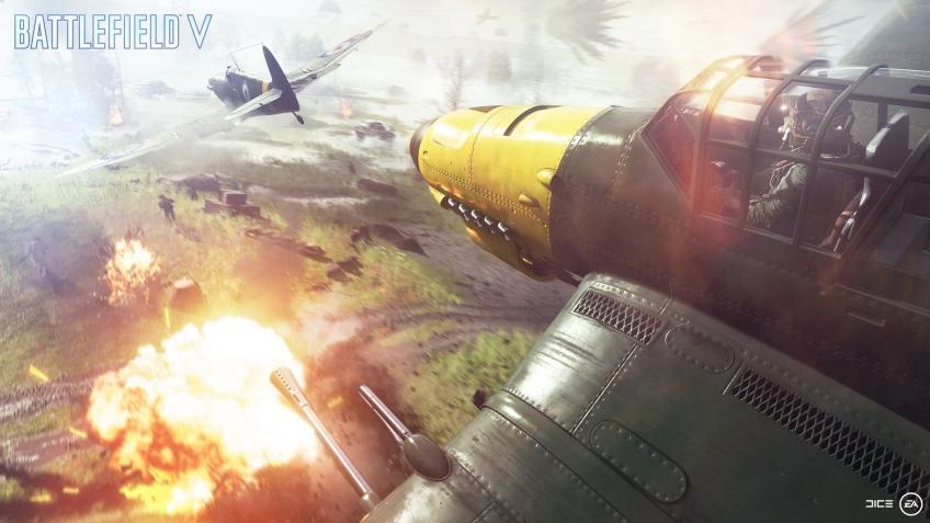 Battlefield V. Ну очень «Большие операции»