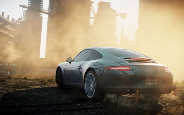 Полицейский разворот. Need For Speed: Most Wanted