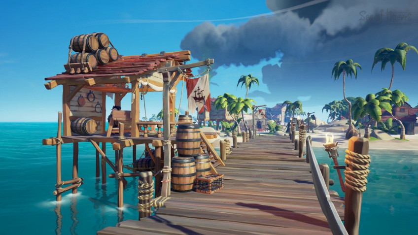 Гайд: Координаты форпостов, фортов и факториев в Sea of Thieves