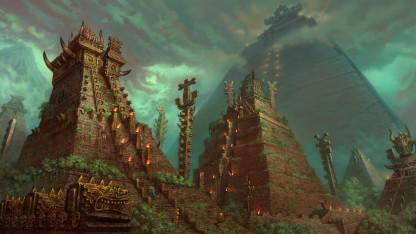 Мир Total War: WARHAMMER2. Эльдорадо с динозаврами и земли Нового света