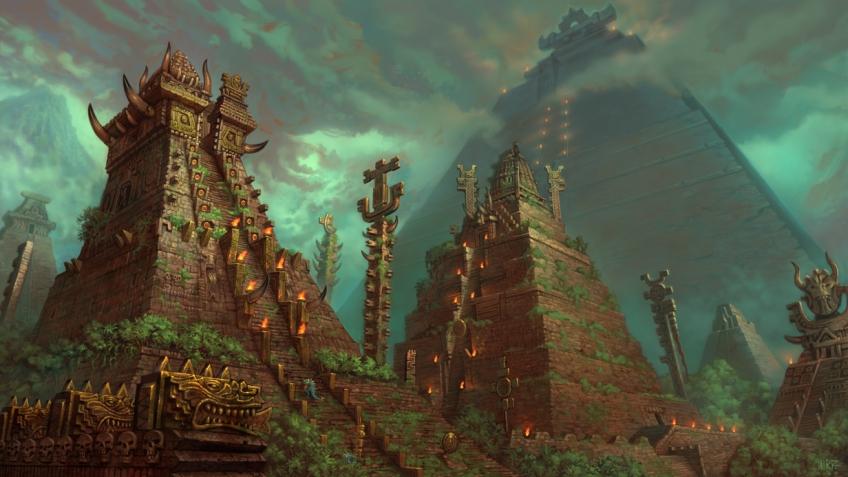 Мир Total War: WARHAMMER 2. Эльдорадо с динозаврами и земли Нового света