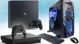 Сравнение PS4 Pro, Xbox One X и PC: три кита и 4K