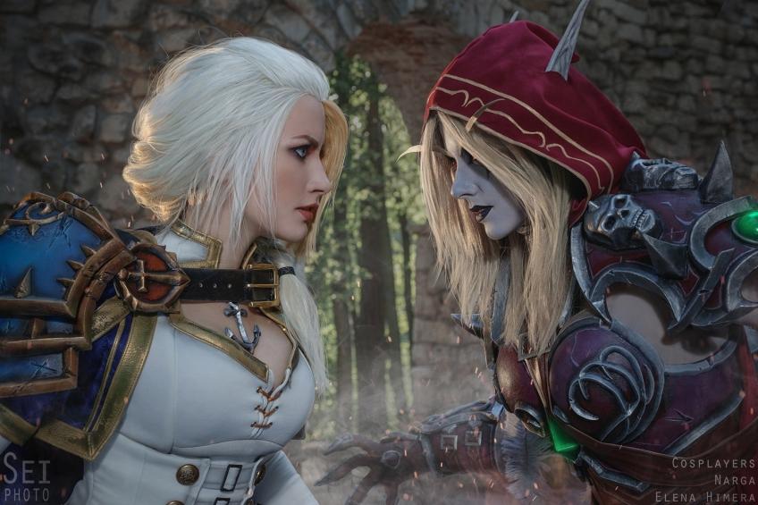 Косплей недели: Mass Effect, Bayonetta, Street Fighter