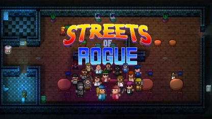 Обзор Streets of Rogue. Если бы Grand Theft Auto вышла на Super Nintendo