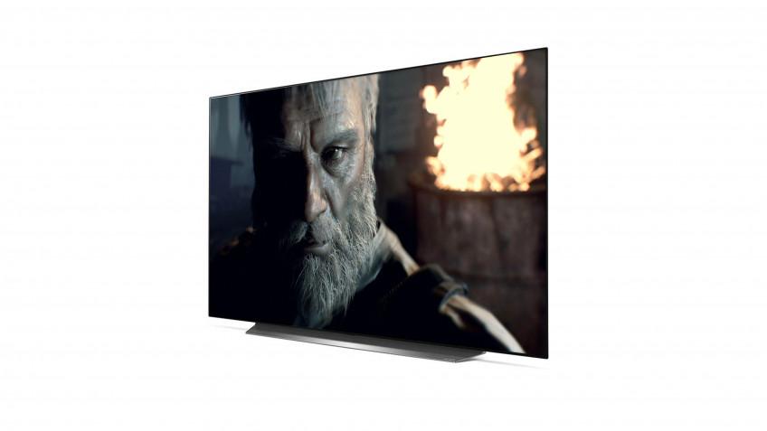 LG OLED55CX — На сегодня считается высшей ступенью развития телевизоров. По яркости, уровню контраста и скорости уступает главному конкуренту, но обходит его по части HDR. В OLED пиксели светятся сами по себе, поэтому точность локальной подсветки находится на недосягаемом уровне.