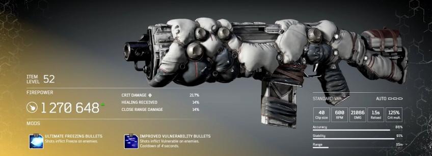Гайд: Outriders — Легендарное оружие и как его получить