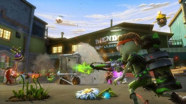 Поле битвы — огород. Plants vs. Zombies: Garden Warfare