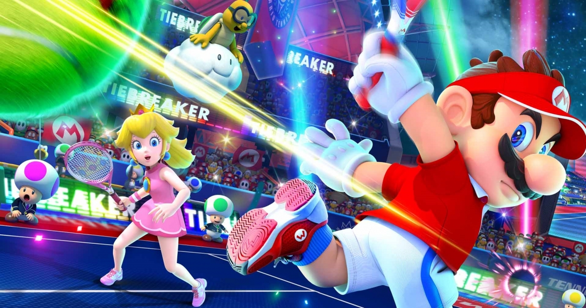 Mario Tennis Aces. Теннис под грибами