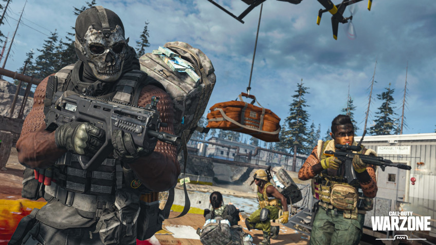 Мультиплеер года. Call of Duty: Warzone, Fall Guys, Among Us