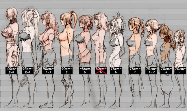 Фото девушки с грудью второго размера
