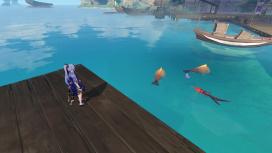 Гайд: Все места для рыбалки в Genshin Impact и время спавна рыбы