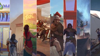 Гайд: Как поменять персонажа и страну в Humankind