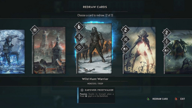 Сам шевелись! Превью Gwent: The Witcher Card Game
